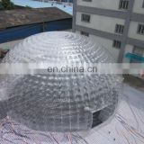 New!!Wonderful design giant inflatable bubble tent,giant dome tent