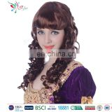 Styler Brand wholesale cheap full face women party wig synthetic curly wig