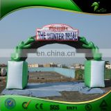 Inflatable Green PVC Leaf Arch, Inflatable Entrance Arch, Inflatable Arch rental for Sale