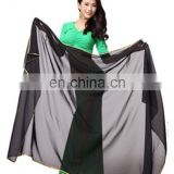 P-9026 Rectangle chiffon prefessional belly dance veil scarf with size 125*60cm/185*95cm/210*120cm/190*95cm