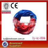 Polyester multifunctional seamless outdoor elastic bandana