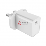 White 18W Power Delivery USB C PD Charger 5V 3A 9V 2A 12V 1.5A