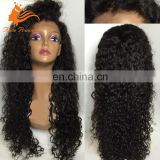 Wholesale Price 100% Unprocessed Brazilian Virgin Hair Kinky Twist Braided Lace Wig From China Wig Supplier