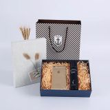 Paper oem die cut gift box luxury