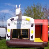 2016 horsing inflatable bouncer house,portable infaltable horse bouncer for sale