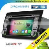 Erisin ES4700F 2 Din 7 inch Car DVD GPS DAB+ Radio for FIAT BRAVO