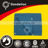 12x20ft heavy duty tear defiant with grommet blue cotton polyester canvas tarp for tractor cover