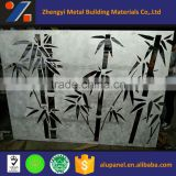 curtain wall perforated bamboo aluminum panel