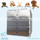 veterinary clinic stainless mortuary freezer