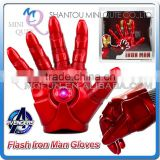 Mini Qute America Marvel cartoon Avenger super hero flash hands glove plastic action figures kids collection toys NO.MQ 050