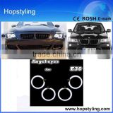 low price Car LED Headlight 4*120mm Super Bright CCFL Angel Eyes For E30 E32 E34 Car led spare parts
