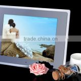 NEW 12.1inch HD TFT-LCD 1024*768 Digital Picture Photo Frame Alarm Clock MP3 MP4 Movie Player with Remote Desktop Black