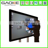Gaoke LED 55 65 70 84 98inch Interactive touch screen monitor smart tv with Android from China manufacturer with best price