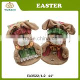 Best Selling Easter Big Candy Drawstring bag with 3D Bunny Design