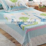 High Quality kids Patchwork Quilt Set children Bedding Set cotton bedding set
