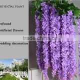 Hottest artificial wisteria flowers for wedding decoration