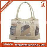 Fashion animal leather bag / ladies handbag / patch leather bag                                                                         Quality Choice