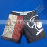 High Quality Custom Sublimation printed MMA Shorts