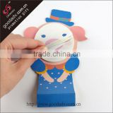 China manufacturer Color paper sticky note for Office / animal shaped sticky note