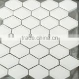 most popular white diamond shape mosaic tile