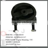 Top quality & Competitive price for auto parts engine mount use for Nissan auto parts