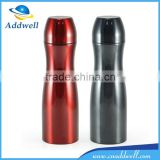 Bowling shaped sport stainless steel vacuum travel water bottle
