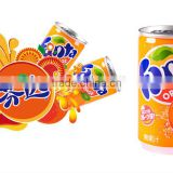 Fanta soft drink-orange flavor