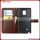 Leather phone case for samsung galaxy note edge N9150 cell phone case cover