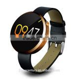 Wholesale 1.22'' Round touch screen IPS smart watch bluetooth watch support smartphone