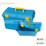 Hot Sale Plastic Toolbox, Functional Equipment Toolbox, New Design Plastic Storage Box With Lid SL-G592