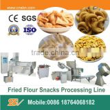 Industrial Frying Wheat Flour Bugles Chips Making Machine