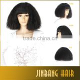2016 New Premium Synthetic Hair Wig Black Colored Cosplay Party Wig For Wholesale