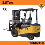 China 2.5Ton used 4 wheel electric forklift for sale with Curtis controller                                                                         Quality Choice
