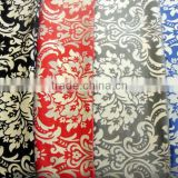 woven twill bronzing velveteen fabric for decoration