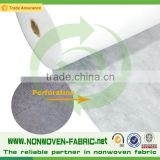 Waterproof non woven fabric Perforated disposable bed sheets roll nonwoven medical disposable