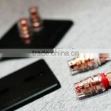 99.998 red copper 2 way Speaker Connector Wall Plate