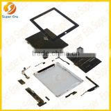 factory selling replacement parts for ipad 1 2 3 4 mini/air ect spare parts wholesale full set
