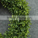 Wholesale artificial christmas wreath, artificial boxwood wreath