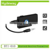 2016 new bluetooth audio transmitter receiver 2 in 1 stereo music adapter for tv pc headset audio devices BTI-010