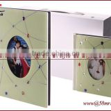 2013 Digital Wedding Photo Album Cover,Acrylic Glass Wood Crystal Leather Album Cover Design