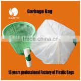 customized printed star-sealed plastic garbage bag with logo