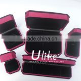 full set velvet jewelry ring gift box with bowknot velvet necklace gift boxes new product ideas