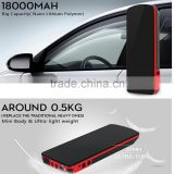 Multi-Function 18000mAh car jump starter for 12V car vehicle car accessories dc motor for electric vehicle