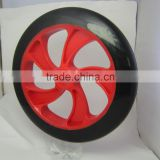 Polyurethane Customized Wheel 200mm pu wheel scooter