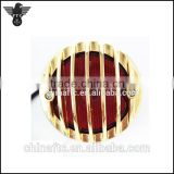 Motorcycle Grille Ribbed Brake Tail Light 4 Custom Vintage Bobber Chopper Harley Hot Rod
