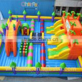 Kids Fun City Inflatable Playground Outdoor Gym Playground Equipment Inflatable Fun City
