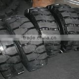 Quick fixed solid tire linde tire