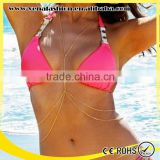 women nickel free body chain jewerly, body jewelry                                                                         Quality Choice