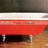 classical casting enamel bathtub for home with legs