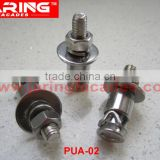 stainless steel 316/A4 Undercut Anchor Bolts for stone cladding Limestone 30mm thick (PUA-02) M6*30